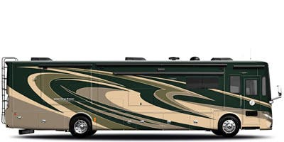 Find Specs for 2015 Tiffin - Phaeton <br>Floorplan: 42 LH (Class A)