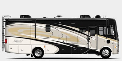 Find Specs for 2015 Tiffin - Allegro <br>Floorplan: 36 LA (Class A)