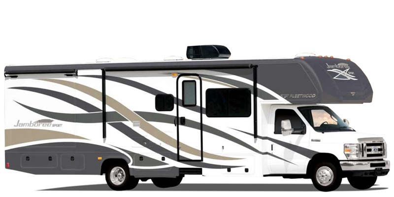 Find Specs for 2016 Fleetwood Jamboree Sport Class C RVs