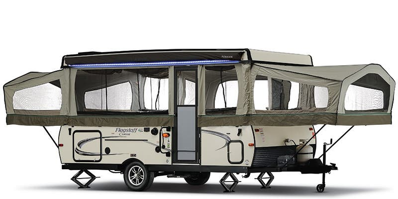 Find Specs for 2017 Forest River Flagstaff Super Lite/Classic Expandable Trailer RVs