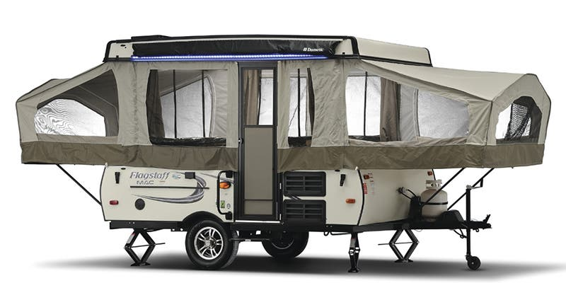 Find Specs for 2017 Forest River Flagstaff Expandable Trailer RVs
