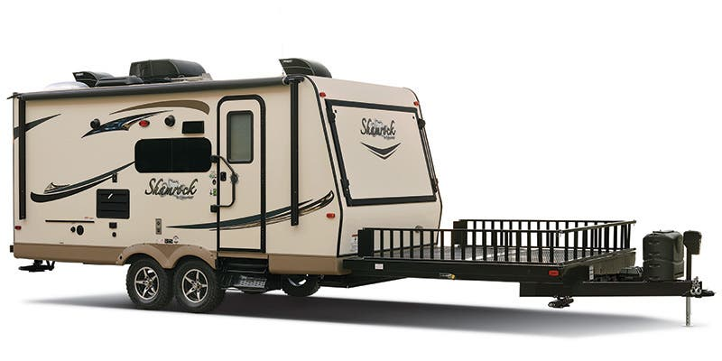 Find Specs for 2017 Forest River Flagstaff Shamrock Toy Hauler RVs