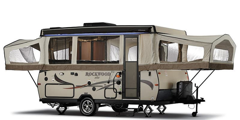 Find Specs for 2016 Forest River Rockwood Expandable Trailer RVs