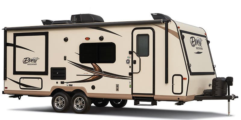 Find Specs for 2016 Forest River Rockwood Roo Travel Trailer RVs