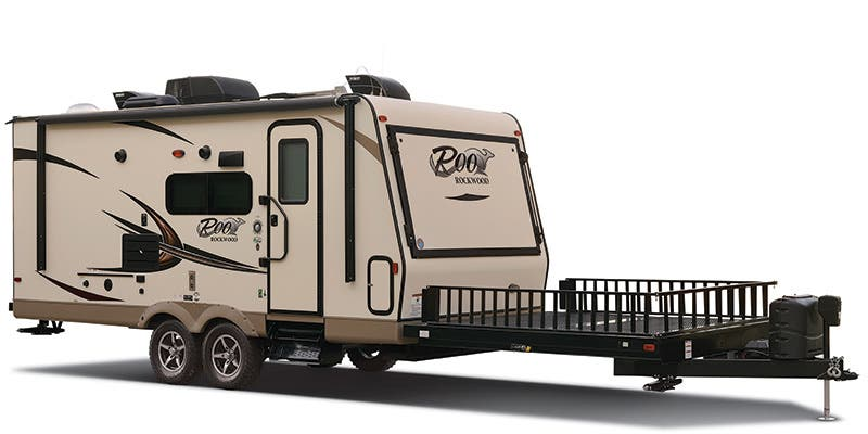 Find Specs for 2016 Forest River Rockwood Roo Toy Hauler RVs