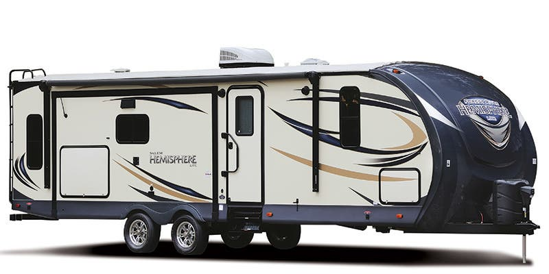 Find Specs for 2017 Forest River Salem Hemisphere Lite Travel Trailer RVs