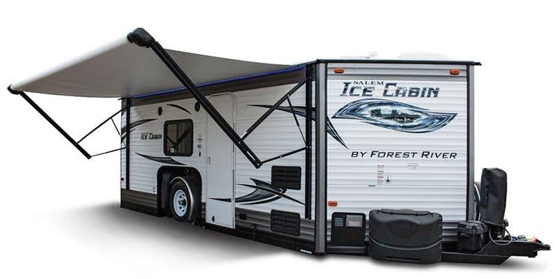 Find Specs for 2016 Forest River Salem Ice Cabin Toy Hauler RVs