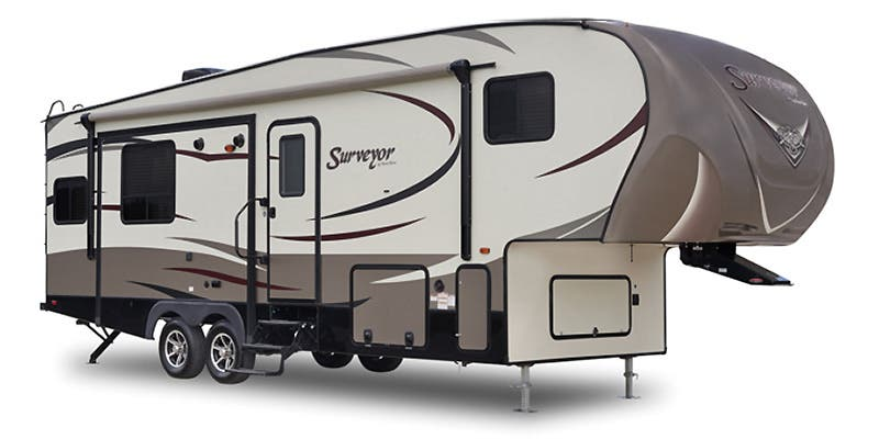 Find Specs for 2016 Forest River - Surveyor <br>Floorplan: 293RLTS (Fifth Wheel)