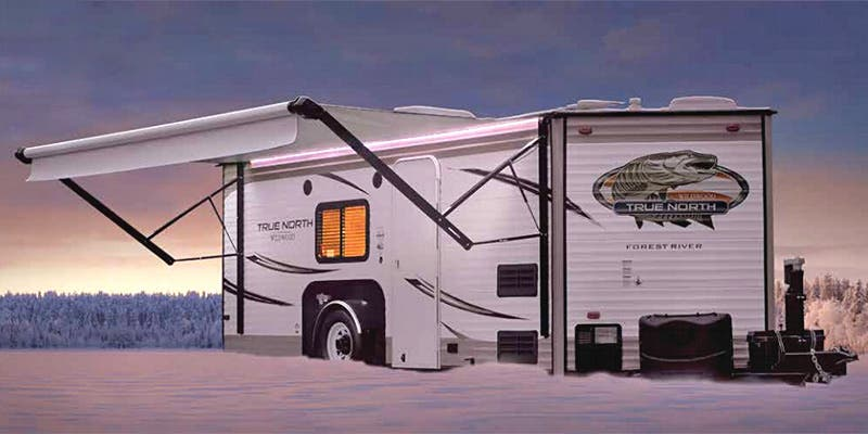 Find Specs for 2016 Forest River True North Ice Lodge Toy Hauler RVs