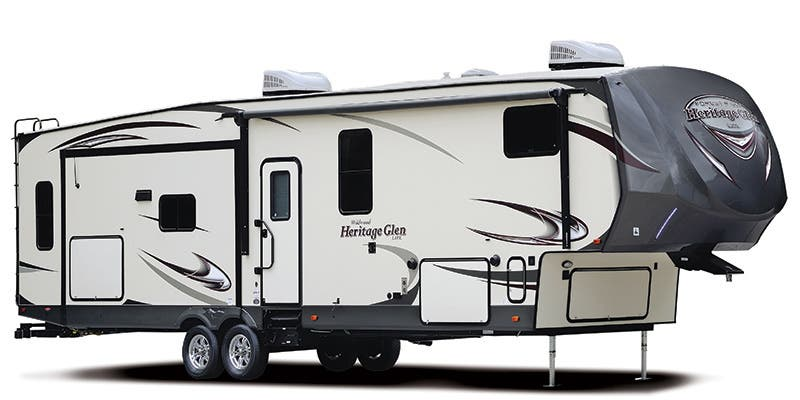 Find Specs for 2017 Forest River Wildwood Heritage Glen Fifth Wheel RVs