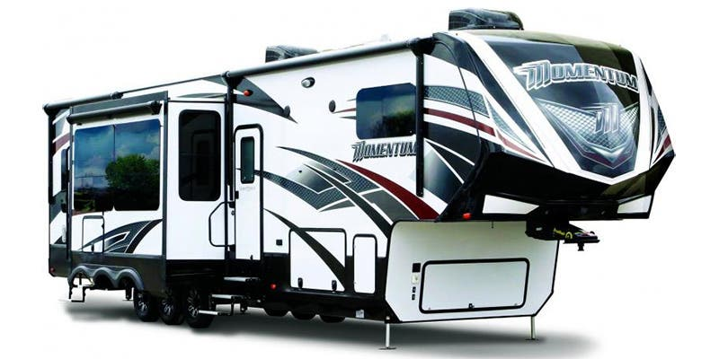 Find Specs for 2017 Grand Design - Momentum <br>Floorplan: 376TH (Toy Hauler)