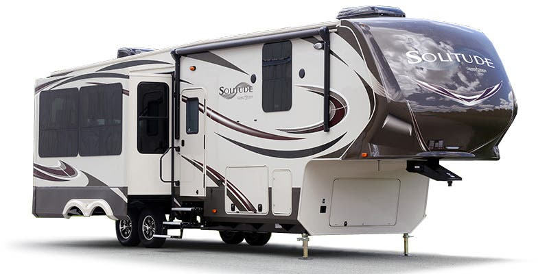 Find Specs for 2016 Grand Design - Solitude <br>Floorplan: 325X (Fifth Wheel)