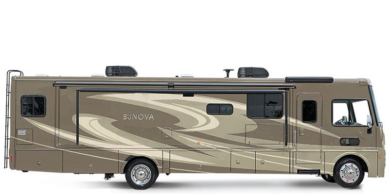 Find Specs for 2016 Itasca - Sunova <br>Floorplan: 35G (Class A)