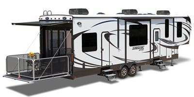 Find Specs for 2016 Jayco Seismic Wave Toy Hauler RVs