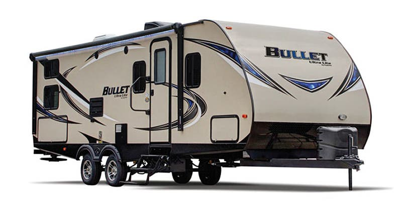 Find Specs for 2016 Keystone - Bullet <br>Floorplan: 274BHSWE (Travel Trailer)