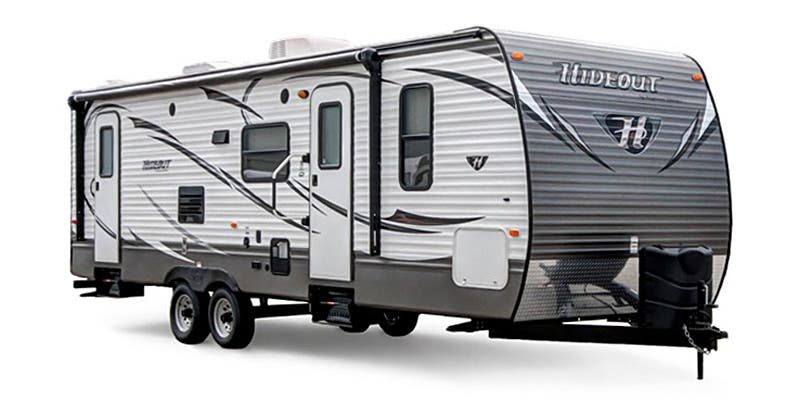 Find Specs for Keystone Hideout Destination Trailer RVs