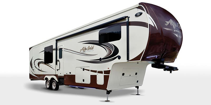 Find Specs for 2016 Lifestyle Luxury RV Alfa Gold Fifth Wheel RVs