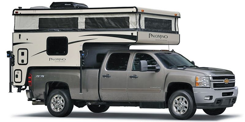 Find Specs for 2017 Palomino Backpack Truck Camper RVs