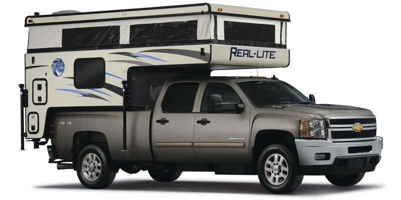 Find Specs for 2017 Palomino Real-Lite Truck Camper RVs