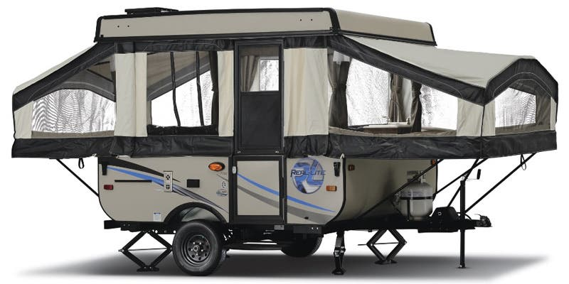 Find Specs for 2017 Palomino Real-Lite Expandable Trailer RVs