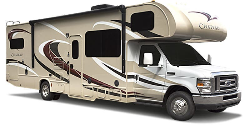 Find Specs for 2016 Thor Motor Coach - Chateau <br>Floorplan: 26A (Class C)