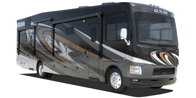 Find Specs for 2016 Thor Motor Coach Outlaw Toy Hauler RVs