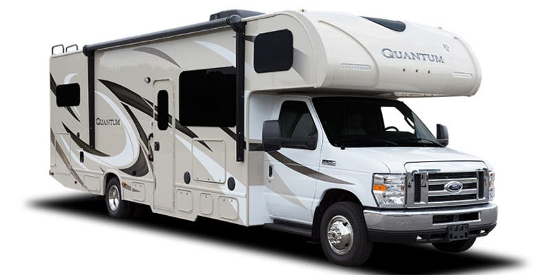 Find Specs for 2016 Thor Motor Coach - Quantum <br>Floorplan: RS26 (Class C)