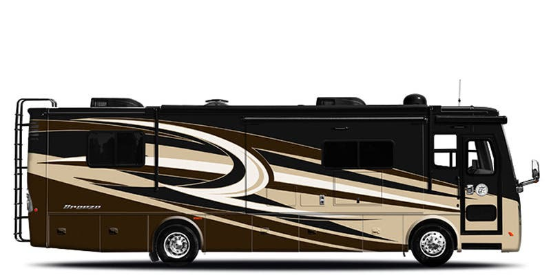 Find Specs for 2019 Tiffin - Allegro Breeze <br>Floorplan: 31 BR (Class A)