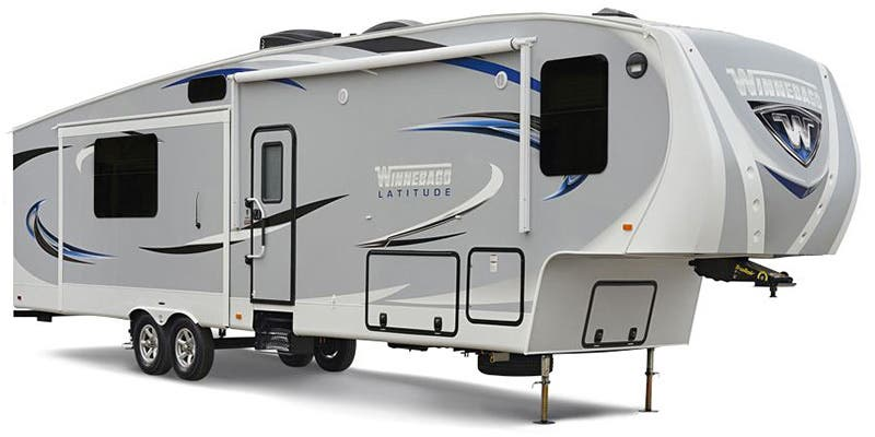Find Specs for 2016 Winnebago - Latitude <br>Floorplan: 34RG (Fifth Wheel)