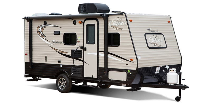 Find Specs for 2017 Coachmen - Clipper <br>Floorplan: 17FQS (Travel Trailer)
