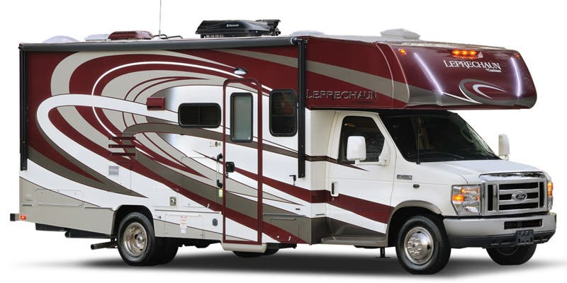 Find complete specifications for Coachmen Leprechaun Class C