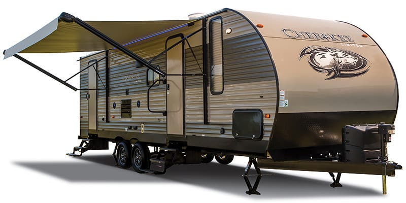 Find Specs for 2018 Forest River Cherokee Toy Hauler RVs
