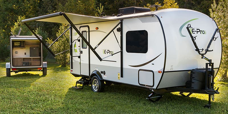 Find Specs for 2017 Forest River Flagstaff E-Pro Travel Trailer RVs