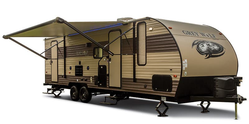Find Specs for 2017 Forest River Grey Wolf Toy Hauler RVs