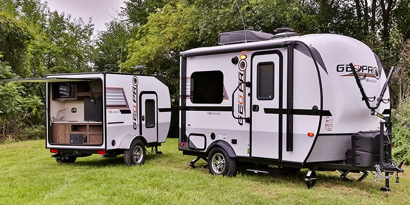 Find Specs for 2017 Forest River Rockwood Geo Pro Travel Trailer RVs