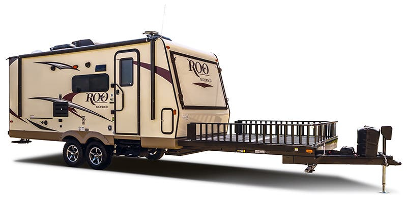 Find Specs for 2017 Forest River Rockwood Roo Toy Hauler RVs
