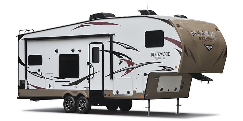 Find Specs for 2017 Forest River - Rockwood Signature Ultra Lite <br>Floorplan: 8299BS (Fifth Wheel)