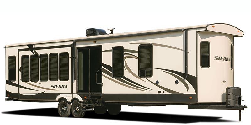Find Specs for 2017 Forest River Sierra Destination Destination Trailer RVs