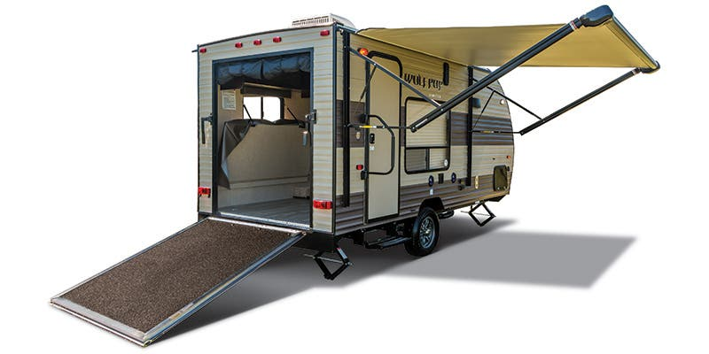 Find Specs for 2017 Forest River Wolf Pup Toy Hauler RVs
