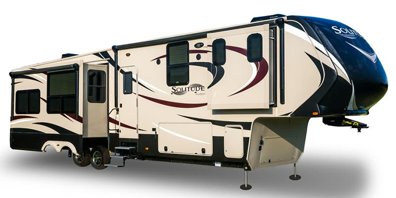 Find Specs for Grand Design Solitude Toy Hauler RVs