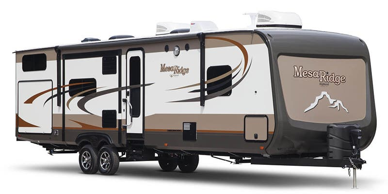 Find Specs for 2017 Highland Ridge Mesa Ridge Travel Trailer RVs