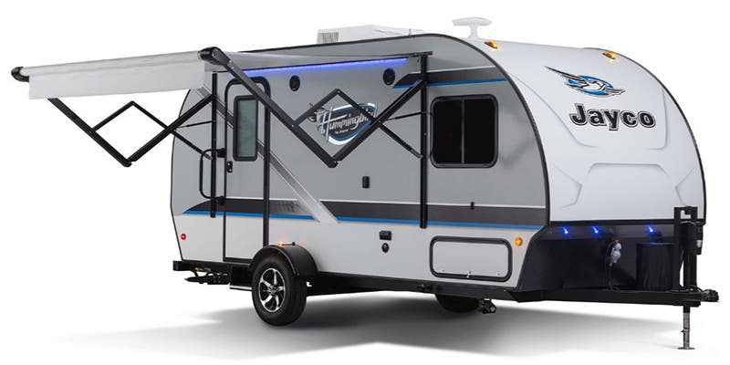 Find Specs for 2017 Jayco - Hummingbird <br>Floorplan: 16FD (Travel Trailer)