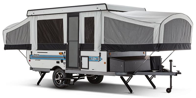 Find Specs for 2017 Jayco - Jay Sport <br>Floorplan: 12SC (Expandable Trailer)
