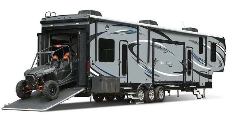 Find Specs for 2017 Jayco Seismic Toy Hauler RVs