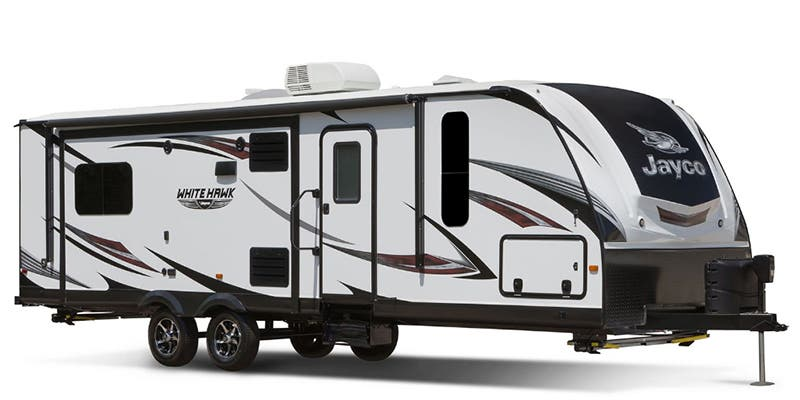 Find Specs for 2017 Jayco - White Hawk <br>Floorplan: 24MBH (Travel Trailer)