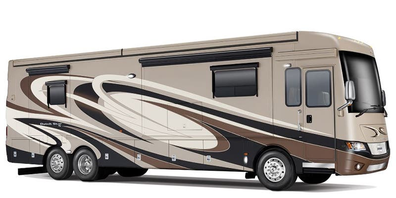 Find Specs for 2017 Newmar - Dutch Star <br>Floorplan: 4369 (Class A)