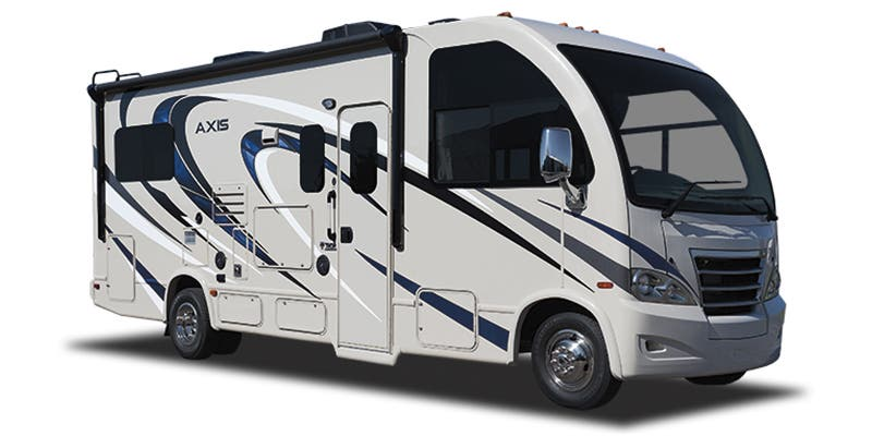 Find Specs for 2017 Thor Motor Coach - Axis <br>Floorplan: 25.3 (Class A)