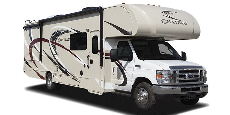 Find Specs for 2017 Thor Motor Coach - Chateau <br>Floorplan: 28Z (Class C)