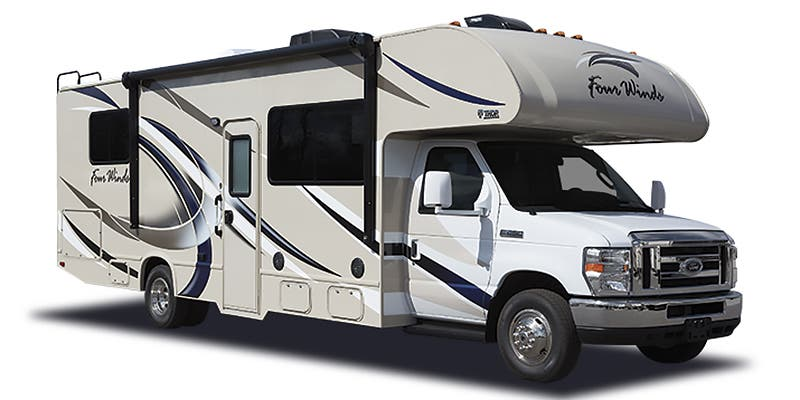 Find Specs for 2017 Thor Motor Coach - Four Winds <br>Floorplan: 24C (Class C)