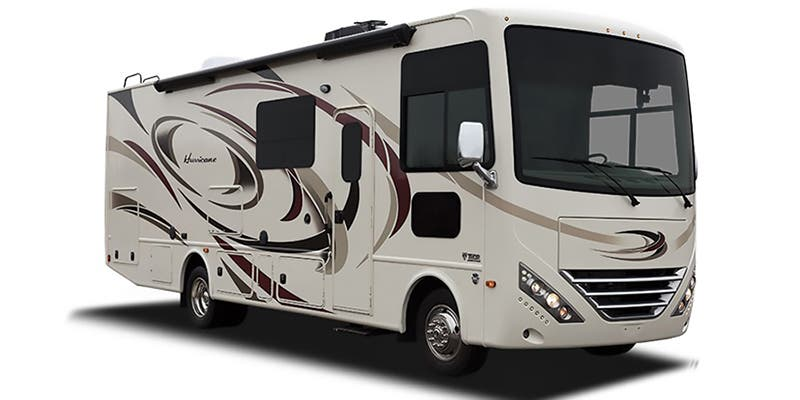 Find Specs for 2017 Thor Motor Coach - Hurricane <br>Floorplan: 34F (Class A)